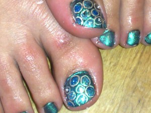 shellac st helens peacock crystals