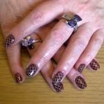 Shellac st helens fedora rockstar nails
